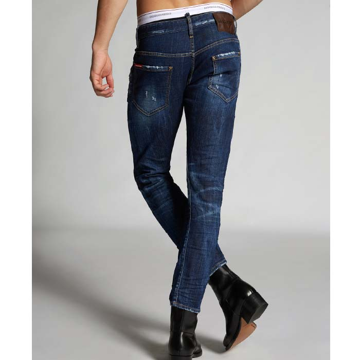 DSQUARED2 DARK SEXY TWIST JEAN (S71LB0631)